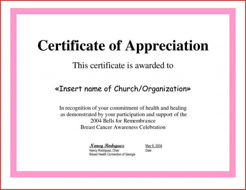 Certificate Of Participation Template Pdf New Cer inside Certificate Of Participation Template Doc 10 Ideas