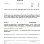 Certificate Of Substantial Completion Template (5 regarding Fresh Certificate Of Substantial Completion Template