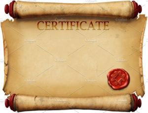 Certificate Scroll Template   Scroll Templates, Templates throughout Fresh Certificate Scroll Template