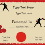 Certificate Street: Free Award Certificate Templates – No With Regard To Boxing Certificate Template