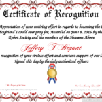 Certificate Template | Certificate Design | Certificate Of Intended For Sample Certificate Of Recognition Template