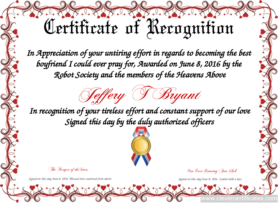 Certificate Template   Certificate Design   Certificate Of intended for Sample Certificate Of Recognition Template