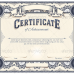 Certificate Template For Pages (6)   Professional Templates Within Best Pages Certificate Templates