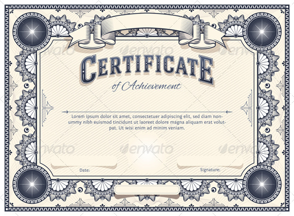 Certificate Template For Pages (6) | Professional Templates within Best Pages Certificate Templates