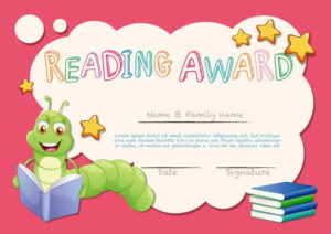 Certificate Template For Reading Award – Download Free regarding Reading Certificate Template Free
