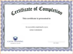 Certificate Template Free Printable – Free Download | Free with Completion Certificate Editable