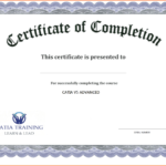 Certificate Template Free Printable - Free Download | Free with Unique Free Certificate Of Completion Template Word
