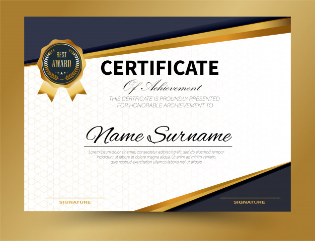 Certificate Template Size (9) - Templates Example regarding Certificate Template Size