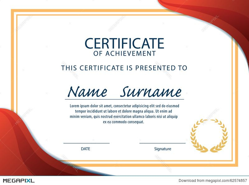 Certificate Template Size - Template For Certificate for Certificate Template Size