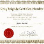 Certificate Template With Fresh New Member Certificate Template