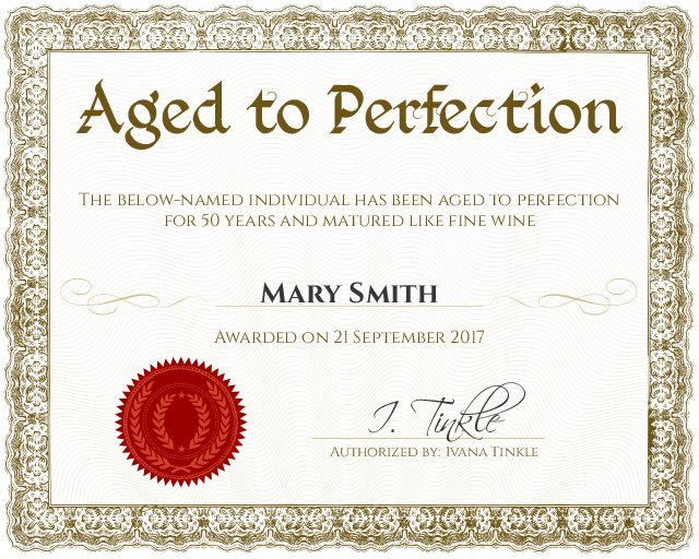 Certificate Template with regard to Quality Funny Certificate Templates