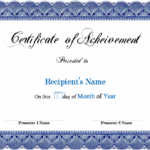 Certificate Template Word | Awards Certificates Template For Unique Microsoft Word Certificate Templates