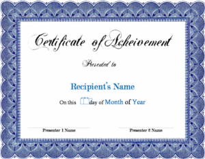 Certificate Template Word | Awards Certificates Template regarding Quality Microsoft Word Award Certificate Template