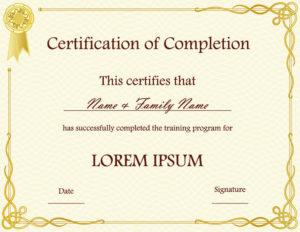Certificate Templates | Best Template Collection regarding Beautiful Certificate Templates