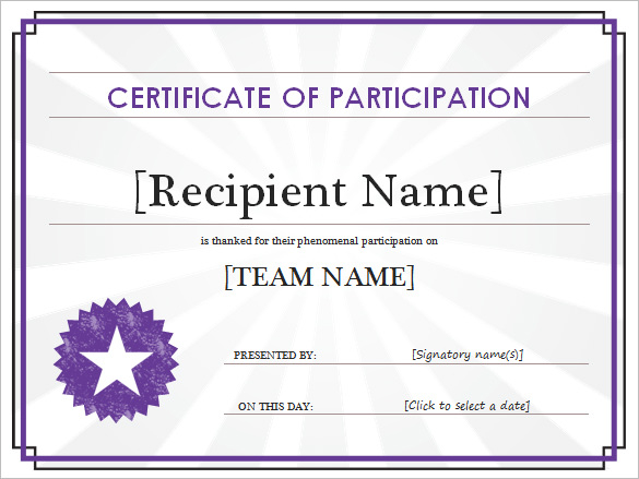 Certificate Templates For Word Free Downloads (9 intended for Best Certificate Templates For Word Free Downloads
