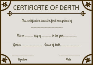 Certificates Archives – Page 12 Of 122 – Template Sumo throughout Baby Death Certificate Template
