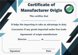 Certificates Archives – Page 62 Of 122 – Template Sumo with regard to Best Certificate Of Manufacture Template