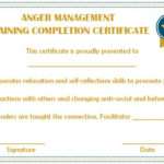 Certificates Archives – Page 74 Of 122 – Template Sumo Regarding Anger Management Certificate Template Free