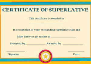 Certificates Archives – Page 8 Of 122 – Template Sumo pertaining to Superlative Certificate Template