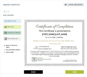 Certificates Archives – Simplecert regarding Continuing Education Certificate Template