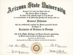 Certificates For Degree College with Academic Certificate