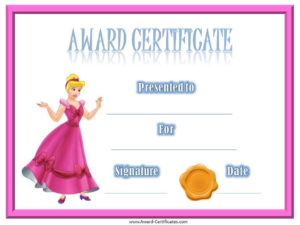 Certificates For Kids | Free Certificate Templates, Award for New Bravery Certificate Templates