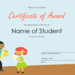 Certificates – Office With Service Dog Certificate Template Free 7 Designs
