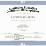 Ceu Certificate Of Completion Template Sample Throughout inside Ceu Certificate Template