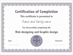 Ceu Certificate Template (4) – Templates Example   Templates throughout Ceu Certificate Template