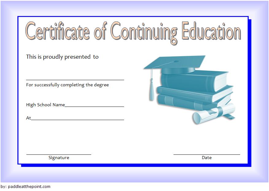Ceu Certificate Template Free   Certificate Templates within Ceu Certificate Template