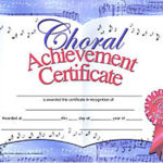 Choir Certificate Template | Certificate Templates, Award Inside Choir Certificate Template