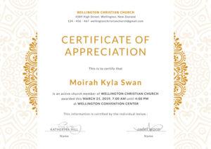 Church-Certificate-For-Appreciation-Editable-Template-Design throughout Editable Certificate Of Appreciation Templates