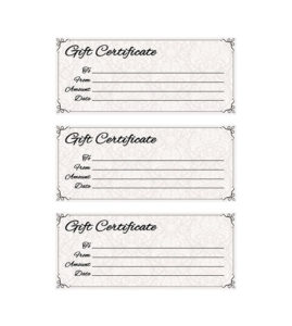 Classic Antique Gift Certificate | Yourtemplatefinder | Gift in Best Company Gift Certificate Template
