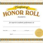 Classic Certificates, Honor Roll, T11307 | Certificate with regard to Honor Roll Certificate Template