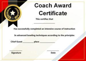 Coach Certificate Of Appreciation: 9 Professional Templates throughout Best Best Coach Certificate Template