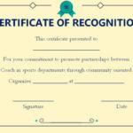 Coach Certificate Of Appreciation: 9 Professional Templates Within Best Best Coach Certificate Template