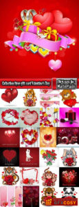 Collection Flyer Gift Card Valentine'S Day Invitation Card with Valentine Gift Certificates Free 7 Designs
