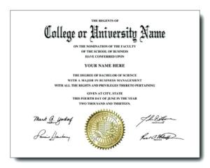 College Graduation Certificate Template (5) – Templates pertaining to Best University Graduation Certificate Template