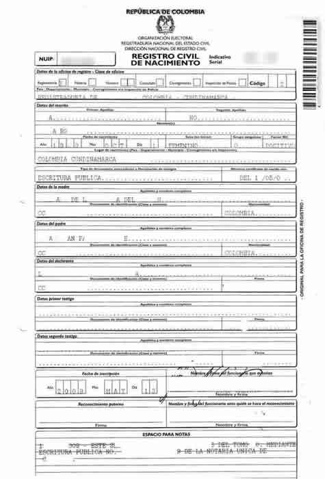 Colombian Birth Certificate Translations - Mexican Birth throughout Fresh Mexican Birth Certificate Translation Template
