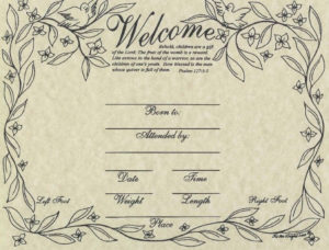Commemorative Birth Certificate | Birth Certificate Template inside Fresh Rabbit Birth Certificate Template Free 2019 Designs