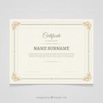 Commemorative Certificate Template (4) – Templates Example Pertaining To Commemorative Certificate Template