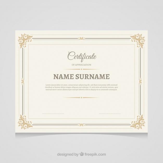 Commemorative Certificate Template (4) - Templates Example pertaining to Commemorative Certificate Template