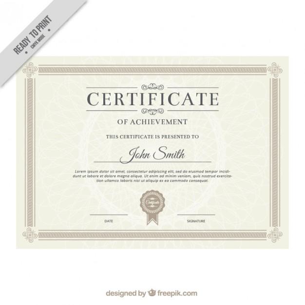 Commemorative Certificate Template (5) - Templates Example throughout Best Commemorative Certificate Template