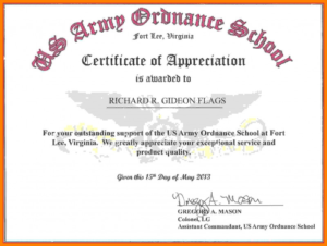 Commemorative Certificate Template New Appreciation in Best Commemorative Certificate Template