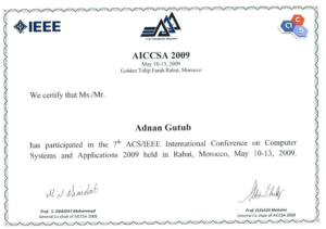 Conference Certificate Of Attendance Template (8 regarding New Conference Certificate Of Attendance Template