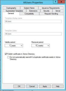 Configuring Active Directory Certificate Services And Auto regarding Active Directory Certificate Templates