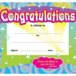 Congratulations Award, T 2954 | Certificate Of Achievement Inside Fresh Congratulations Certificate Templates