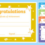 Congratulations Certificate Template For Quality Good Behaviour Certificate Editable Templates