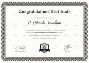 Congratulations Certificate Template In Congratulations in Unique Congratulations Certificate Word Template