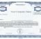 Corporate Bond Certificate Template (1) - Templates Example inside Corporate Bond Certificate Template